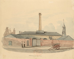 Greenwich old gas works, c.1841